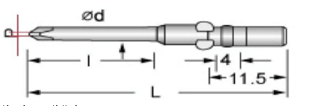 PHILLIPS Screwdriver Bits