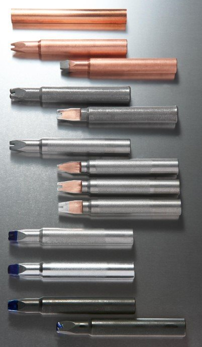 Soldering tip production