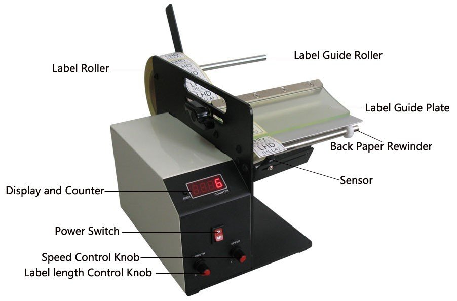 AL505 automatic label dispenser