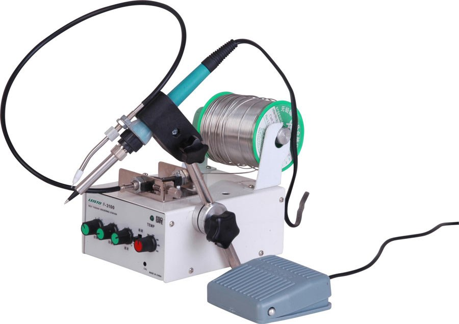 Auto-Feed Soldering Station, Foot Pedal Type, Self-Feeding Solder Wire