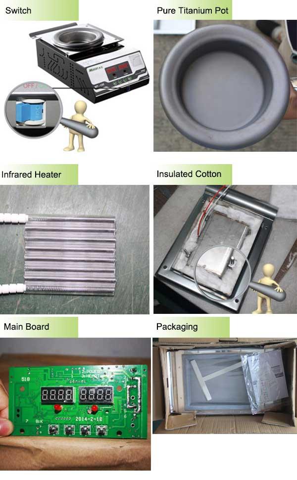 solder pot